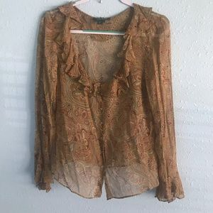 Ralph Lauren silk blouse